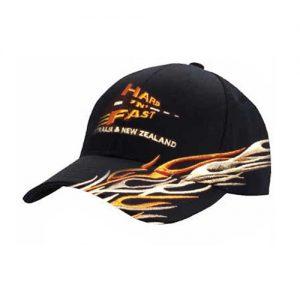 hf-racingcap-orange-black